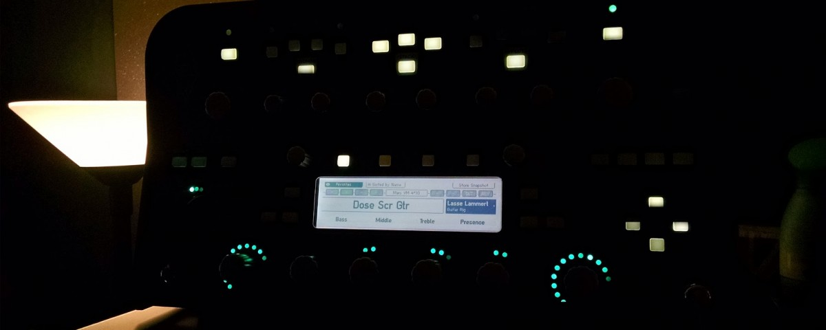 kemper dose scratch tracks